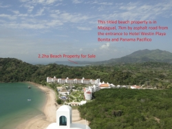 2.2 HA of Beachfront land for sale in Veracruz/Majagual  * PRIME FOR DEVELOPMENT OR INVESTMENT*
