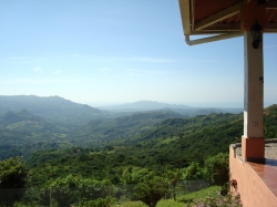 1.5 hectares with superb views, beautiful house and working caf�