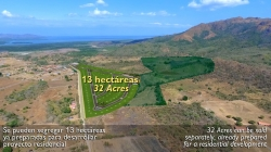 Lot on road to Punta Chame, less than 2 miles from Panamerican Highway