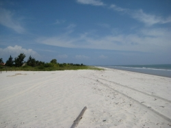 Beachfront lot on a dead end street in Punta Chame ** price reduced to 150 USD/m2 **