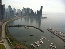 Best Views in Panama from Yacht Club Tower!