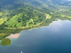 Price reduced! 16.7 ha. Rare Waterfront w road Access near Almirante.