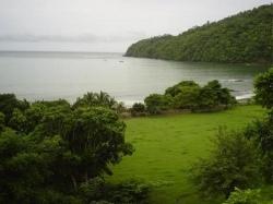 Lotes con vista al mar titulados edificables en venta en Bucaro de Los Santos