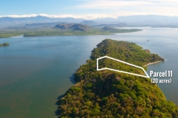 Oceanfront 20 Acres on Private Island with Financing