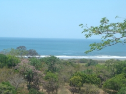 170 ft. road frontage, views of the pacific, flat completely buildable. 1896mt2, playa venao area, Pedasi