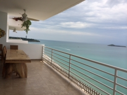 Fully Furnished, 3 Bedroom Ocean Front Apartment for Sale next to Decameron Resort