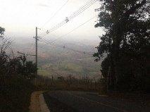 2 hectares atop Los Santos Province highest point, Cerro Canajagua, road frontage