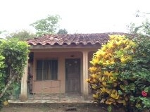 2.4 acres, abundant Fruit Trees, 2 small houses, Guarare, Los Santos, Azuero Peninsula