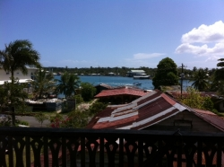 Centrally located loft-type condo in Bocas Town