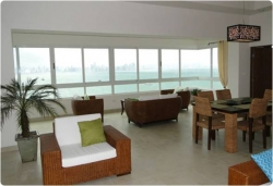 3 Bedroom Apartment with Outstanding Ocean and City Views available for purchase on the Amador Causeway