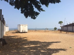 Ocean front lot for sale in the fishing village of Veracruz