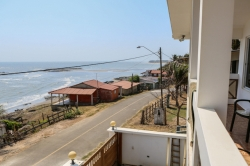 Newly constructed, fully furnished, home just across the street from the beach with B&B Potential.