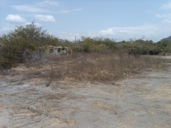 Flat lot just 50m from the beach, includes bluprints for a house