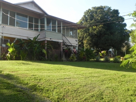 Large house on 1-hectare in best area of Puerto Armuelles, adjacent to the rainforest