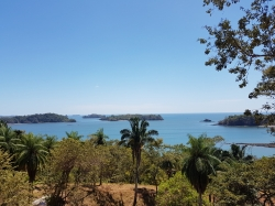 Beautifull house and farm on beach with ocean view on Isla Boca Brava