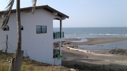 Beachfront Duplex,Excellent investment, Live on the beach and get rental income. Las Tablas, Azuero