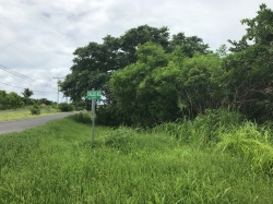 Building lot for sale on main boulevard of Punta Chame, and within minutes walk of the beach