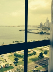 Furnished 1 bedroom rental with Ocean Views on Avenida Balboa for rent.