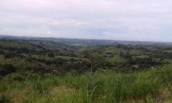 2 hectares distant ocean view, creek, cool climate, fertile soil, minutes from Las Tablas, Azuero Peninsula