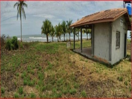 1-hectare lot with Rancho on beautiful beach Playa Nanzal at an EXCELLENT VALUE!!!